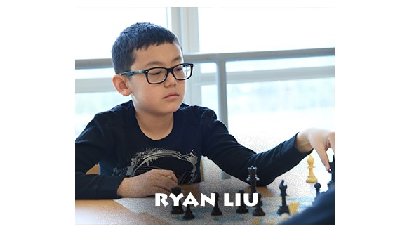 Ryan Liu, 3rd grade - 1st place in the State and National (perfect scores)