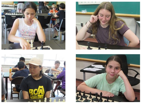 GIRLS WHO PLAY CHESS